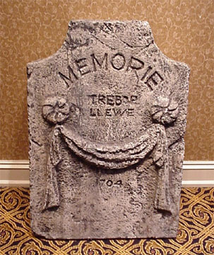 Headstone from 'inside'...